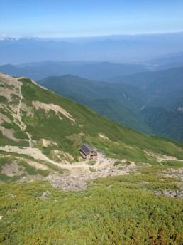 仙丈ヶ岳小屋