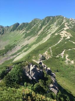 仙丈ヶ岳カール