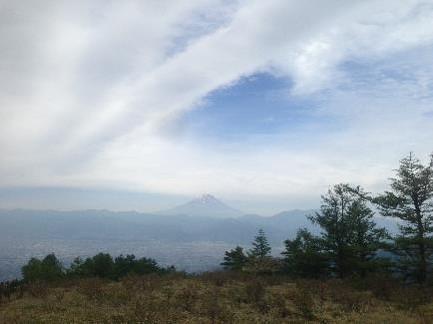 甘利山景色