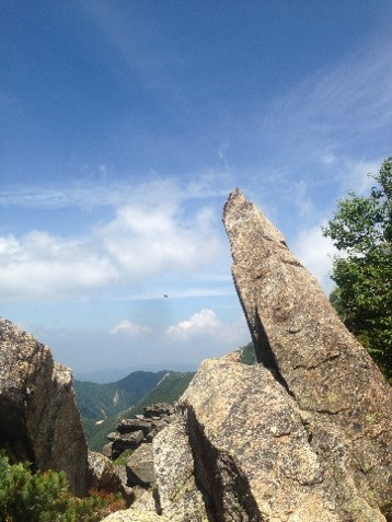 甲斐駒登山道2