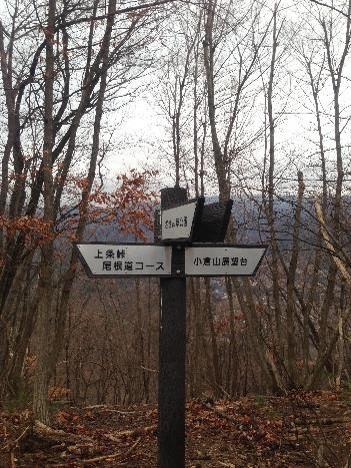 小倉山分岐