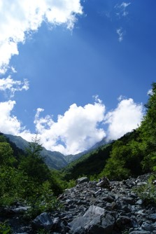 北岳登山道