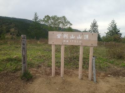 甘利山山頂