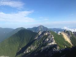観音岳眺望
