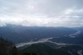 身延山から富士川