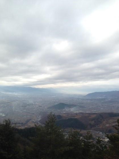 小倉山眺望