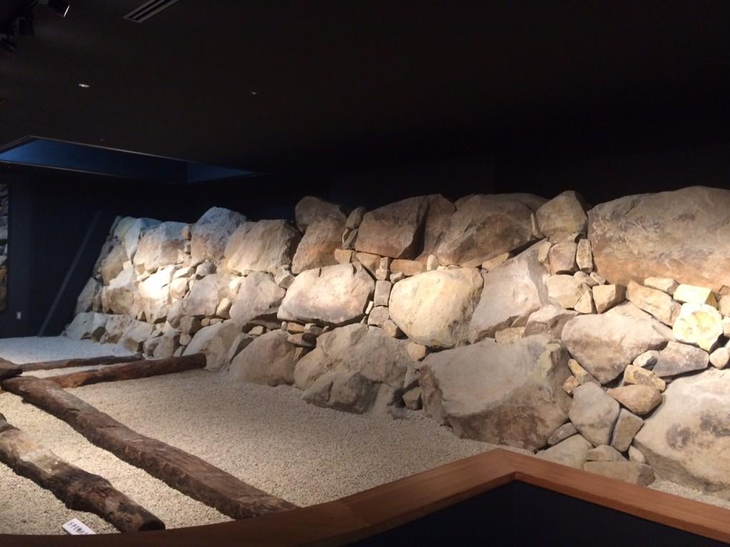 石垣展示室